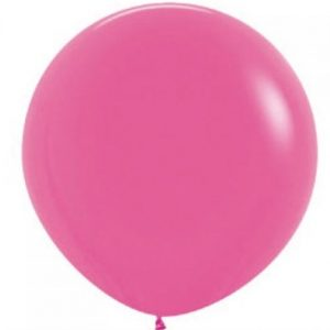 Giant balloon - Fuschia pink 90cm