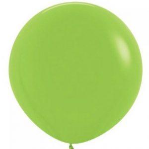 Giant Balloon - Lime Green 90cm