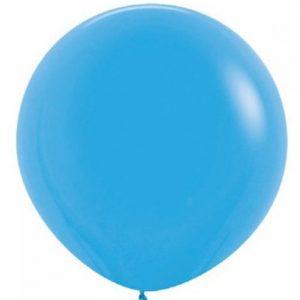 Giant Balloon -Mid Blue 90cm