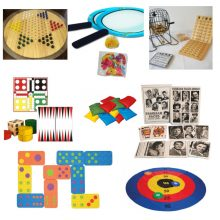 New gross motor games and table games for November 2018