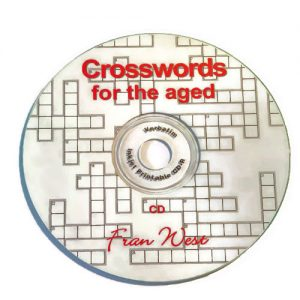 Crosswords for the Aged CD
