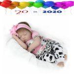 Budget Baby Girl Doll - Little Miss Muffet