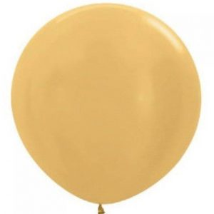 Giant Balloon - metallic gold 90cm