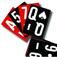 EZC low vision Playing Cards
