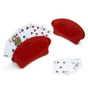 Playing Card Holders - stand or handheld - pack of 2