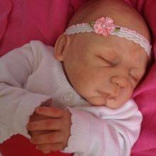 Lifelike baby doll Alex