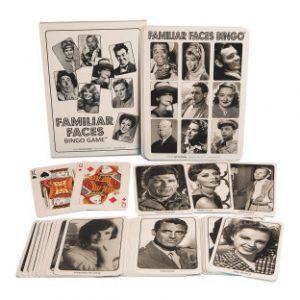 Familiar Faces Bingo Game