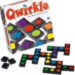 Qwirkle matching colour and shape game