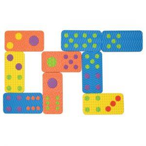 Foam Textured Dominoes