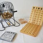 Bingo Cage Set with 75 Balls