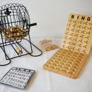 Bingo Cage Set with 75 Balls