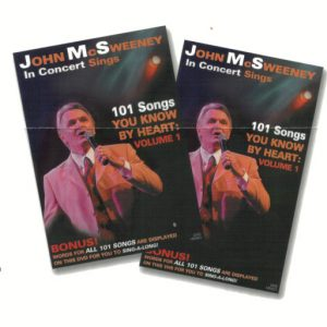 John McSweeney Sings DVD Volume 1