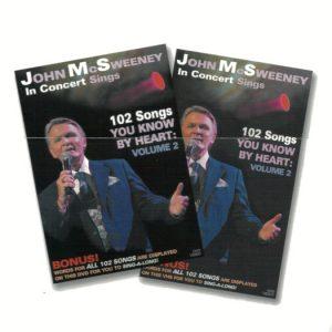 John McSweeney Sings DVD Volume 2