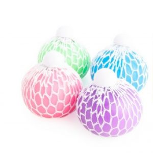Mesh Squishy Ball - Pearlescent