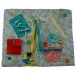 Sensory Lap Blanket - Small # 18