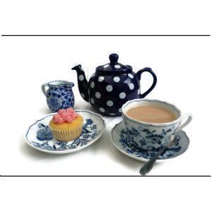 Afternoon Tea no 2 - 16 piece cardstock jigsaw