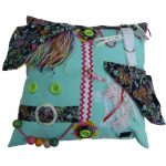 Square Fiddle Cushion #8