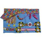Slip-resistant Fiddle Mat with Floral Print