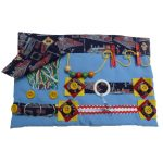 Slip-resistant Fiddle Mat with Trains print