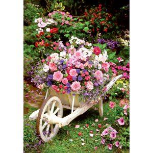 260 piece jigsaw - Garden Flowers