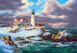 260 piece jigsaw - Portland Head Lighthouse