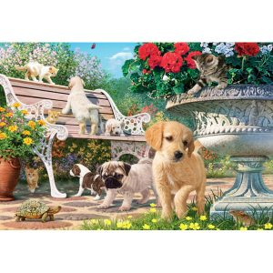 260 piece jigsaw puzzle - Pets Hide and Seek
