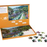 63 piece plastic jigsaw puzzle - Monet's Garden