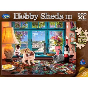 Hobby Sheds III - Puzzlers Nookc
