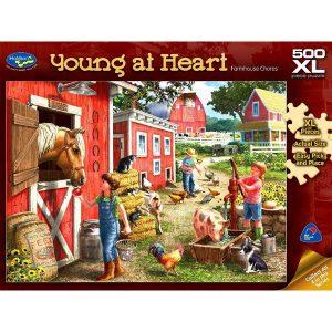Young at Heart - Farmhouse Choresb