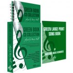 Green Book CD Collection and Large Print Song Book Bundle