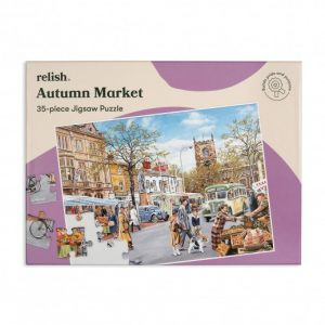 Relish 35p Large Piece Jigsaw - Autumn Market