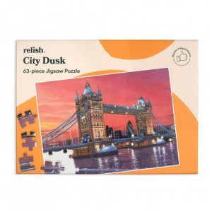 Relish 63p Large Piece Jigsaw - City Dusk