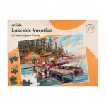 Relish 63p Large Piece Jigsaw - Lakeside Vacation