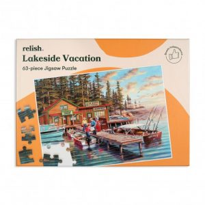 Relish 63p Large Piece Jigsaw - Lakeside Vacation