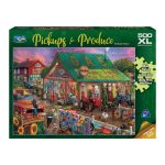 500p Large Piece Jigsaw - Antique Barn