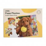 Relish 13p Large Piece Jigsaw - Puppy Playtime