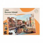 Relish 63p Large Piece Jigsaw - Burano Island