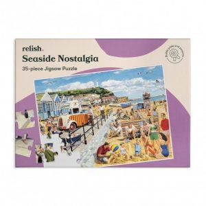 Relish 35p Large Piece Jigsaw - Seaside Nostalgia
