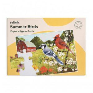Relish 13p Large Piece Jigsaw - Summer Birds