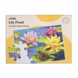 Relish 13p Large Piece Jigsaw - Lily Pond