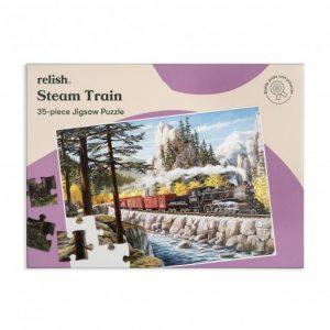 Relish 35p Large Piece Jigsaw - Steam Train