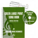 green-large-print-song-book-music-edition-second-edition