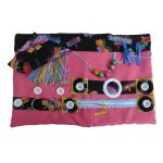 Fiddle Mat - Pink with butterflies print