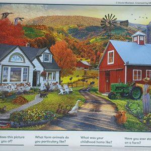 Relish 100 piece Farm Life Puzzle